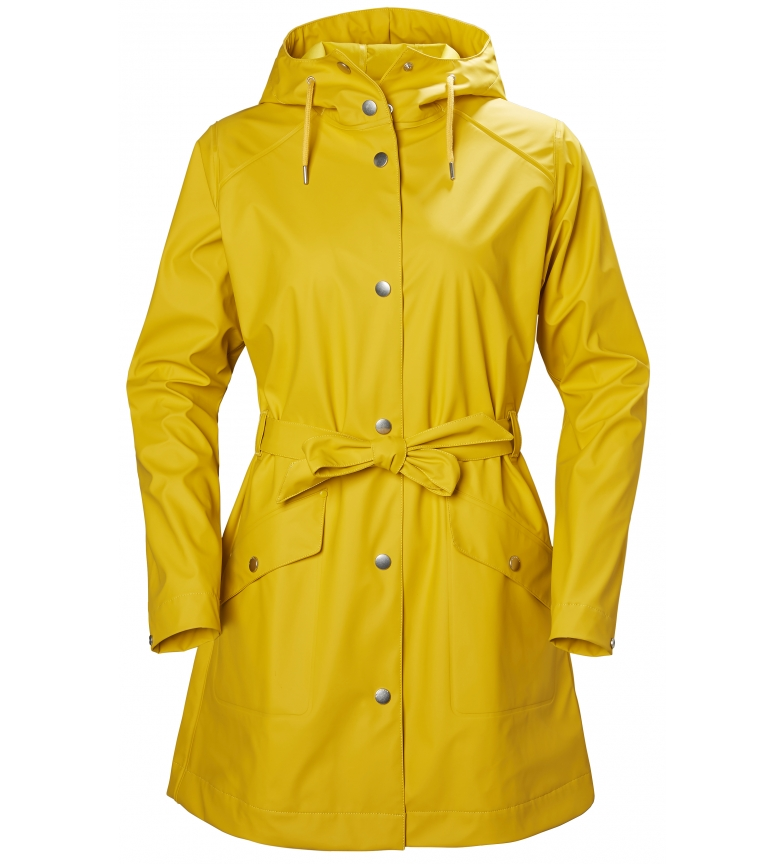 Comprar Helly Hansen Raincoat W Kirwall II yellow / Helox+