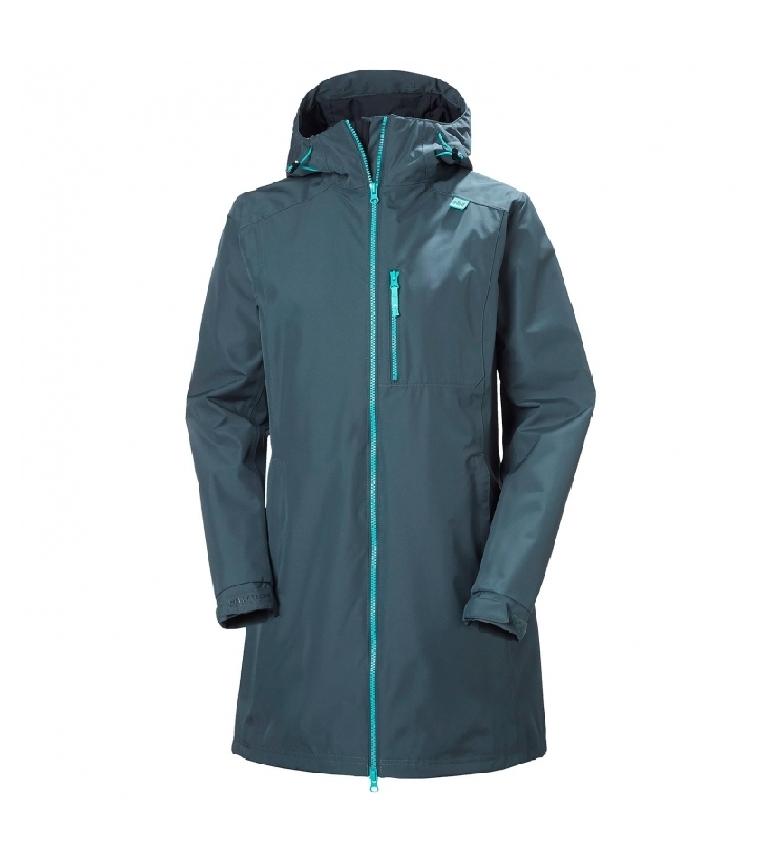 Comprar Helly Hansen Raincoat W Long Belfast blue