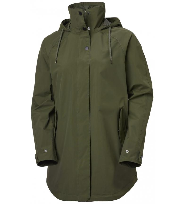 Comprar Helly Hansen Chubasquero W Valentia Raincoat kaki  / Helly Tech / DWR /