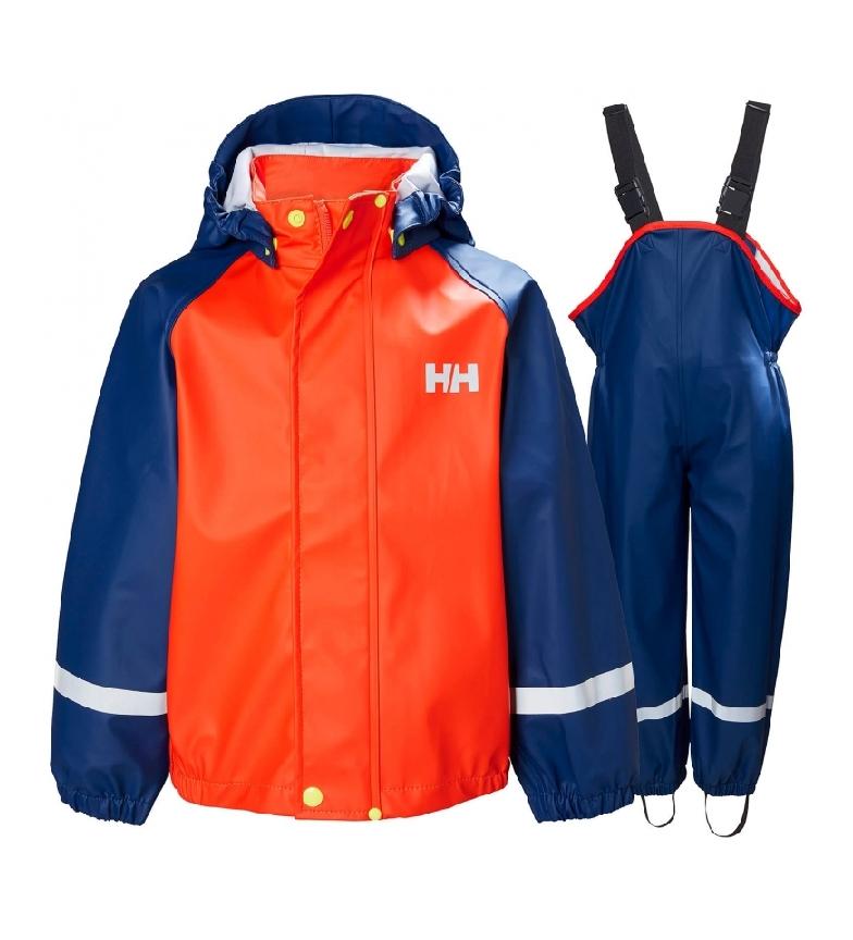 Comprar Helly Hansen K Bergen Pu set di impermeabili arancione, blu - Helox + -