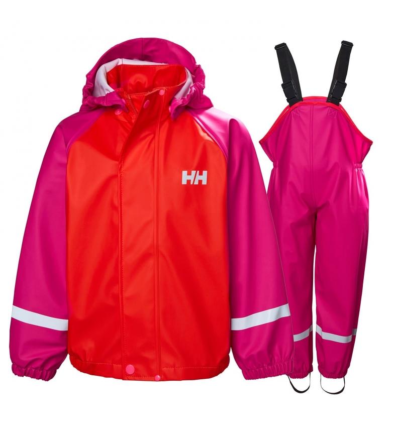 Comprar Helly Hansen Conjunto Bergen Pu K Bergen vermelho, rosa - Helox +