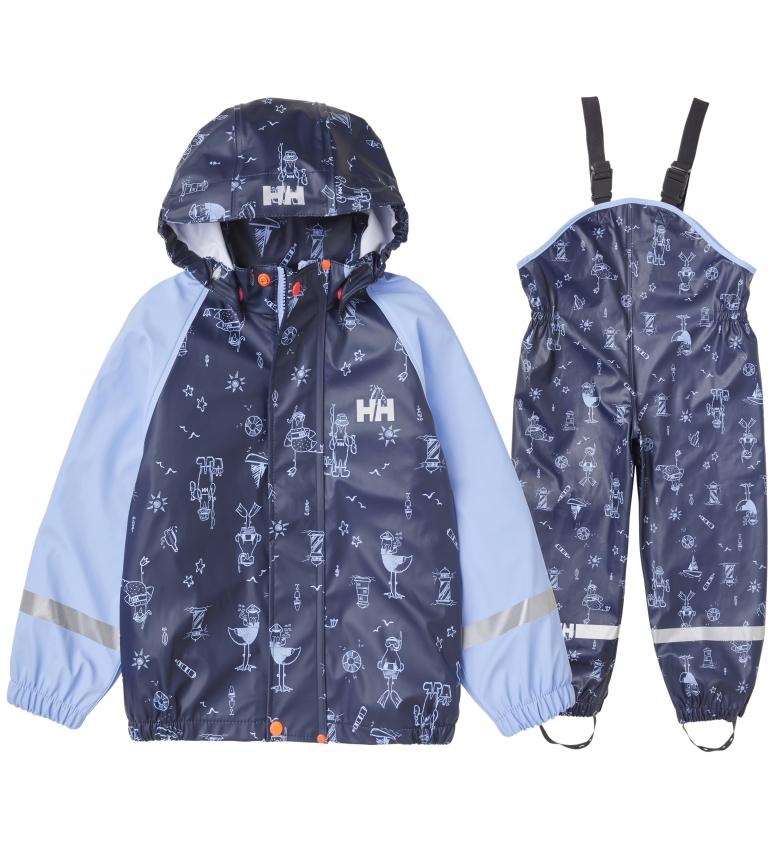 Comprar Helly Hansen Conjunto K Bergen AOP PU Rainset marino / Helox+ / YKK® /