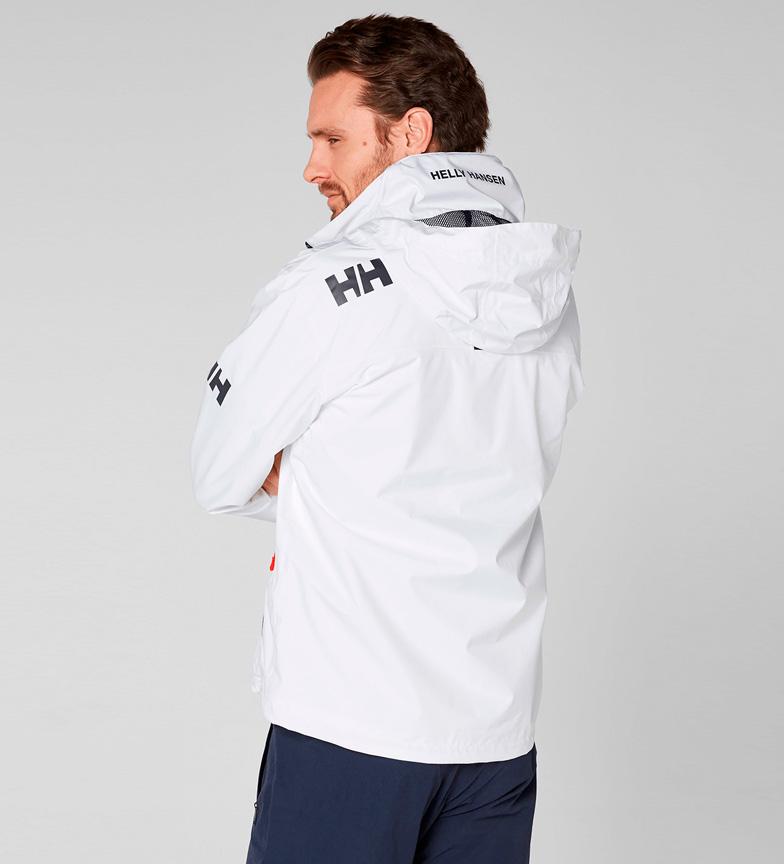 Helly Hansen Chaqueta Crew Hooded blanco Helly Tech