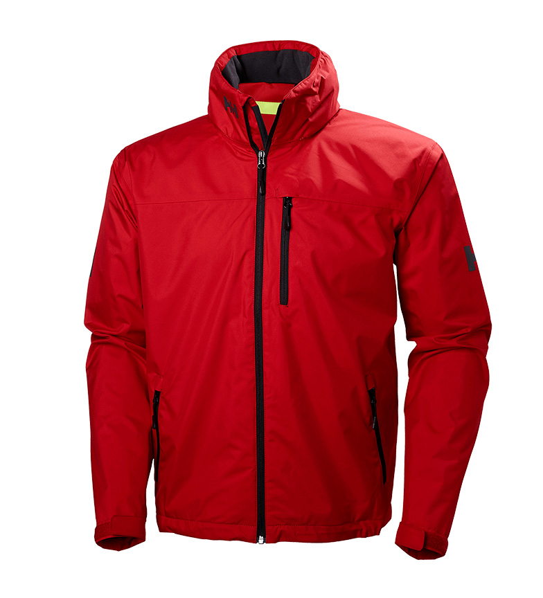 Helly Hansen Chaqueta Crew Hooded rojo Helly Tech