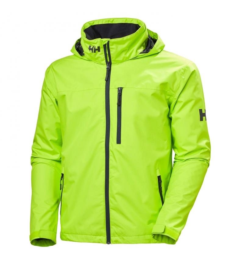 Comprar Helly Hansen Giacca verde con cappuccio dell'equipaggio - Protezione di Helly Tech® -Helly Tech