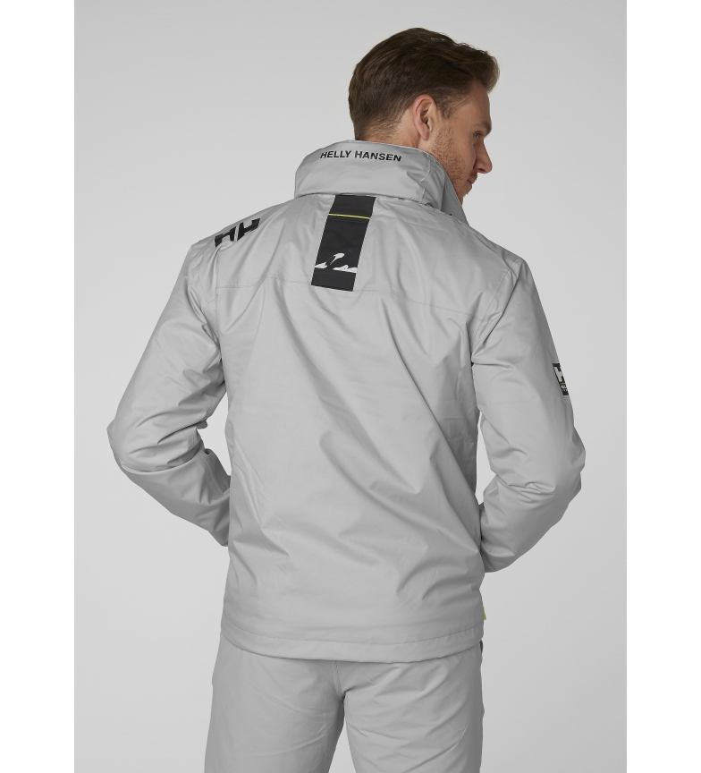 Comprar Helly Hansen Chaqueta Crew Hooded Midlayer gris / Helly Tech® Protection /