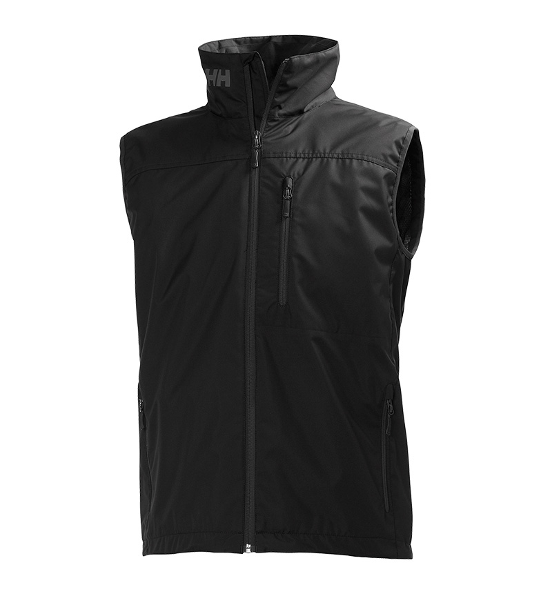Comprar Helly Hansen Chaleco Crew negro/ Helly Tech Protection / DWR