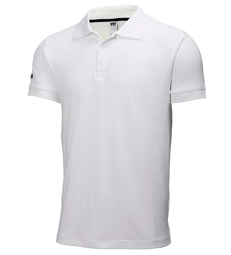Comprar Helly Hansen White Crewline Polo -Tactel-