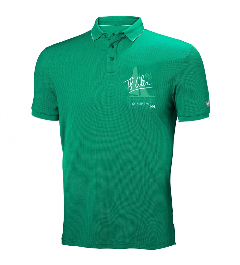 Comprar Helly Hansen Polo Racing green / Tactel® /