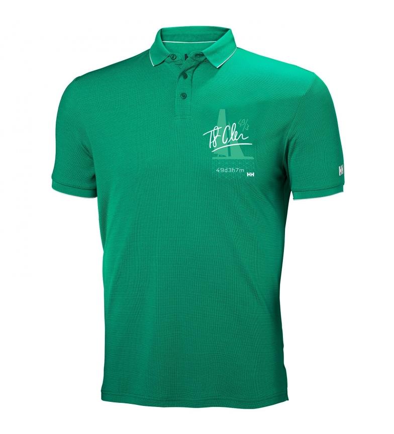 Comprar Helly Hansen Polo Racing verde / Tactel® /