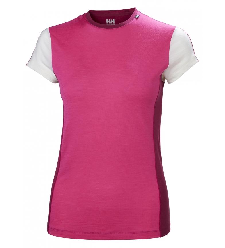 Comprar Helly Hansen T-shirt W HH Merino Light SS pink