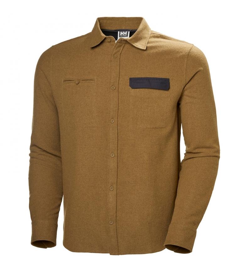 Comprar Helly Hansen Camisa de lã LS castanha