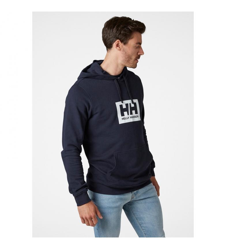 Helly Hansen Felpa con cappuccio HH Box navy