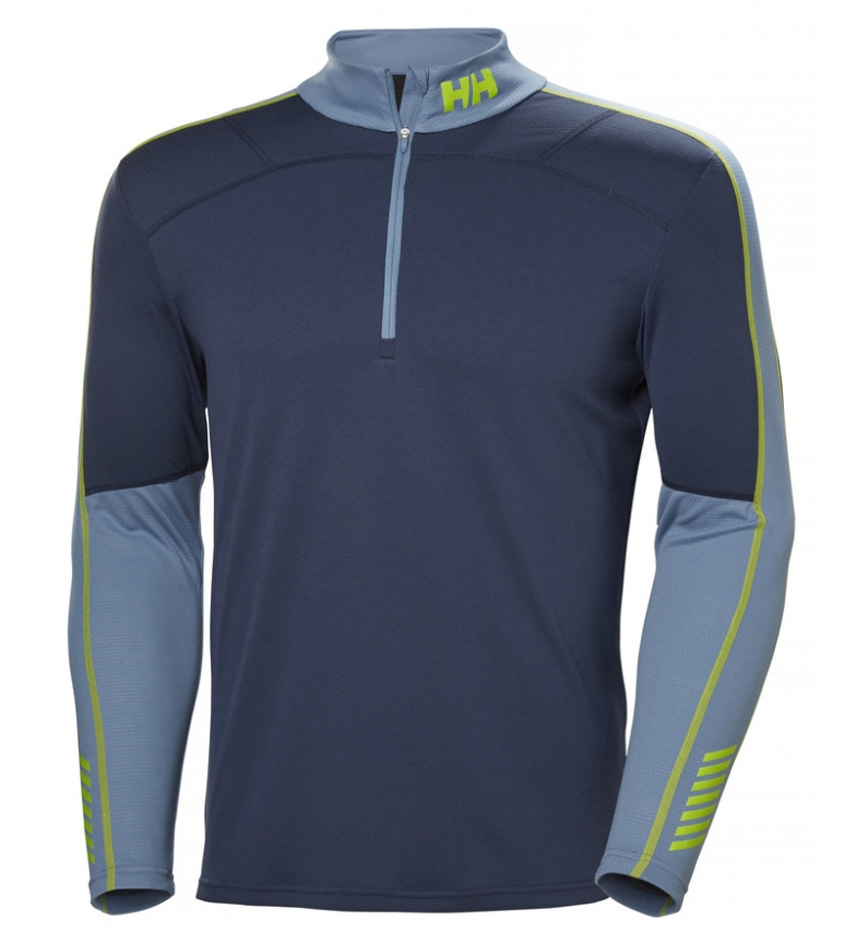 Comprar Helly Hansen T-shirt HH Lifa Active 1/2 Zip marine