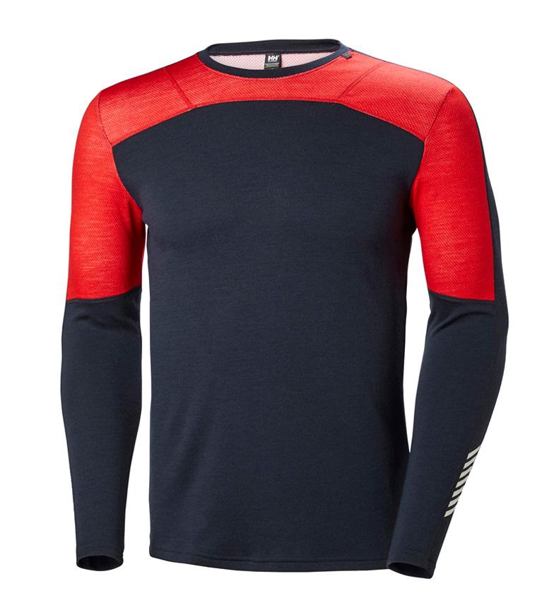 Comprar Helly Hansen HH Maglietta HH Lifa Merino Crew Marine, rosso
