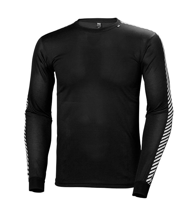 Comprar Helly Hansen Camiseta HH Lifa Stripe Crew negro