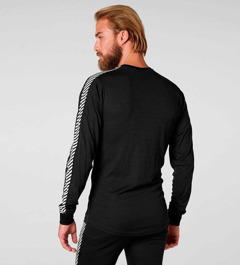 Hh Hansen Crew Stripe Helly camiseta Lifa Negro VSzpGUMq