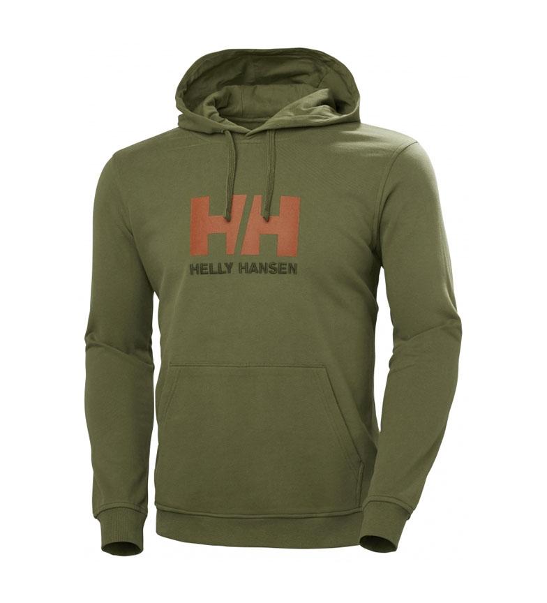 Helly Hansen Felpa HH Logo verde