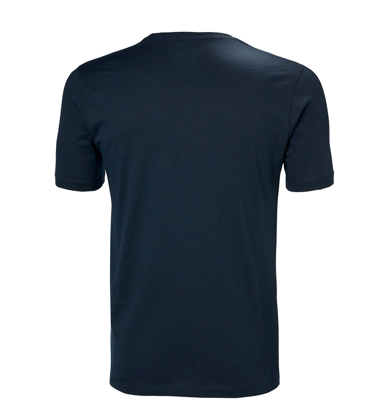 camiseta Hansen Hh Helly Logo Navy jLAR345