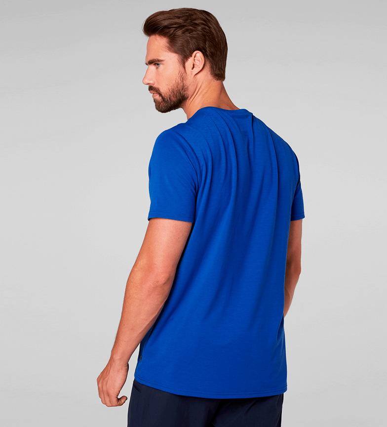 rabatt lav frakt Helly Hansen Camiseta Hk Shore Azul salg beste prisene klaring beste største leverandør J6bN04gNpd