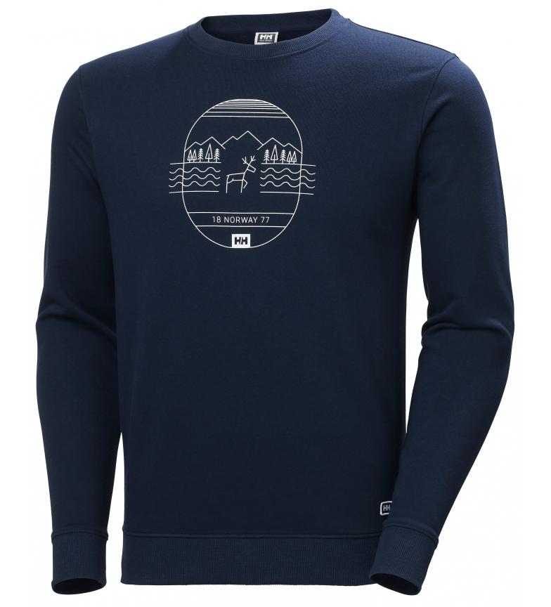 Comprar Helly Hansen Sweater F2F Marine Cotton