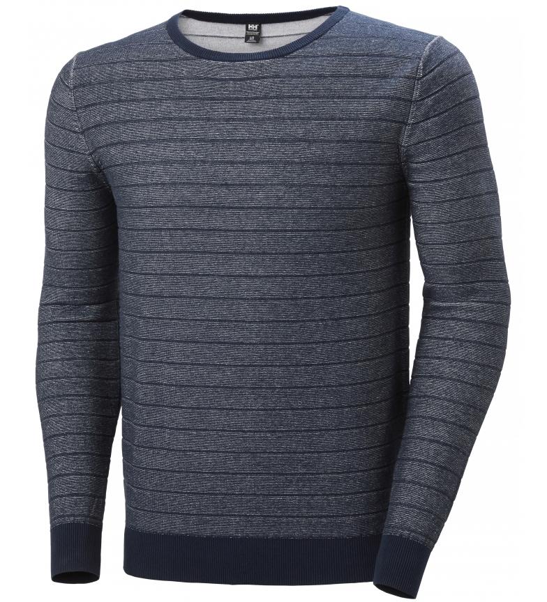Comprar Helly Hansen Pull en tricot d'été Fjord, marine, blanc