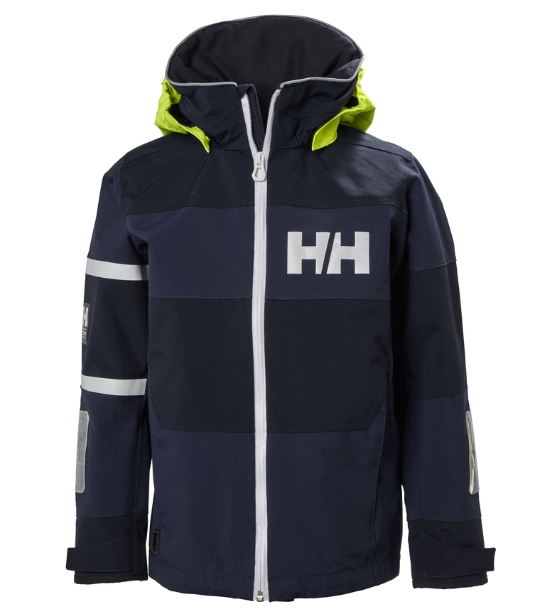 Comprar Helly Hansen Jr Salt Coast Jacket Black / Helly Tech®