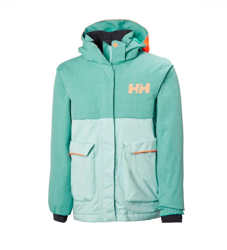 Comprar Helly Hansen Chaqueta de esquí a JR Sweet Frost verde agua