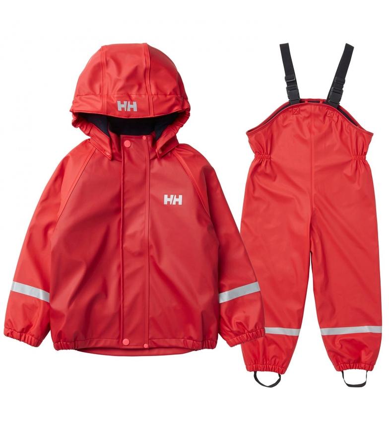 Comprar Helly Hansen Conjunto K Bergen Fleece PU Rainset coral / HELOX+® /