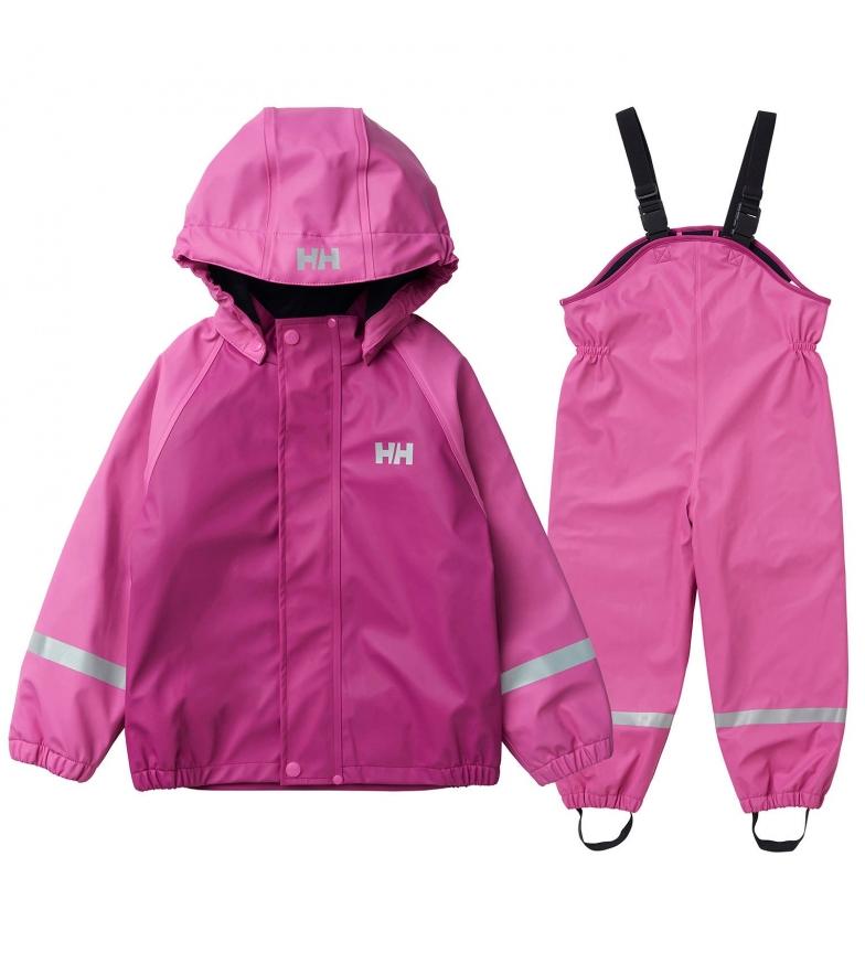 Comprar Helly Hansen Set K Bergen Fleece PU Rainset rosa / HELOX ® /