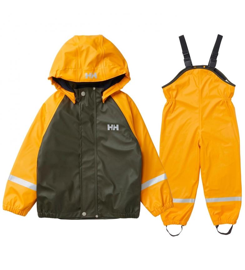 Comprar Helly Hansen Set K Bergen Fleece PU Rainset khaki, yellow / HELOX ® /
