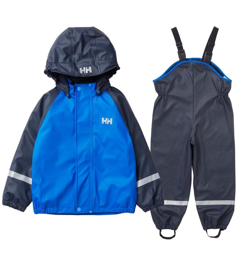 Comprar Helly Hansen Set K Bergen Fleece PU PU Rainset blu / HELOX ® /
