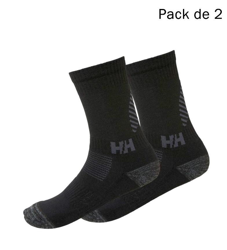 Comprar Helly Hansen Pacote de 2 meias Lifa Merino preto