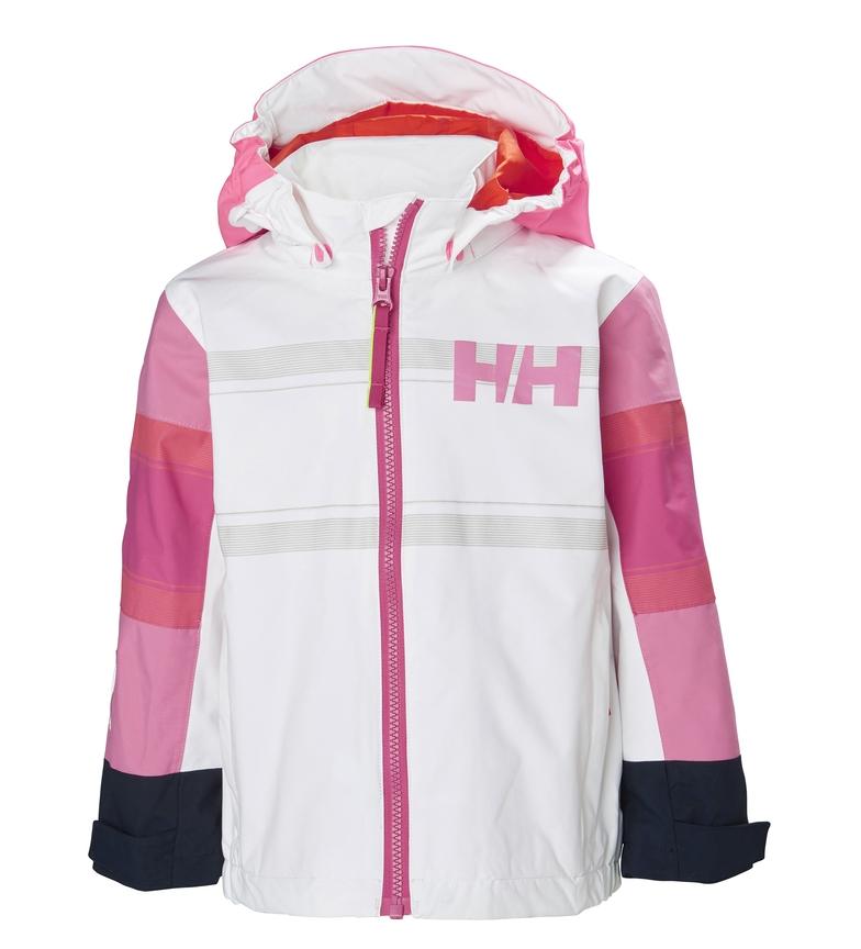 Comprar Helly Hansen Giacca K Salt Coast bianca, rosa / Helly Tech®