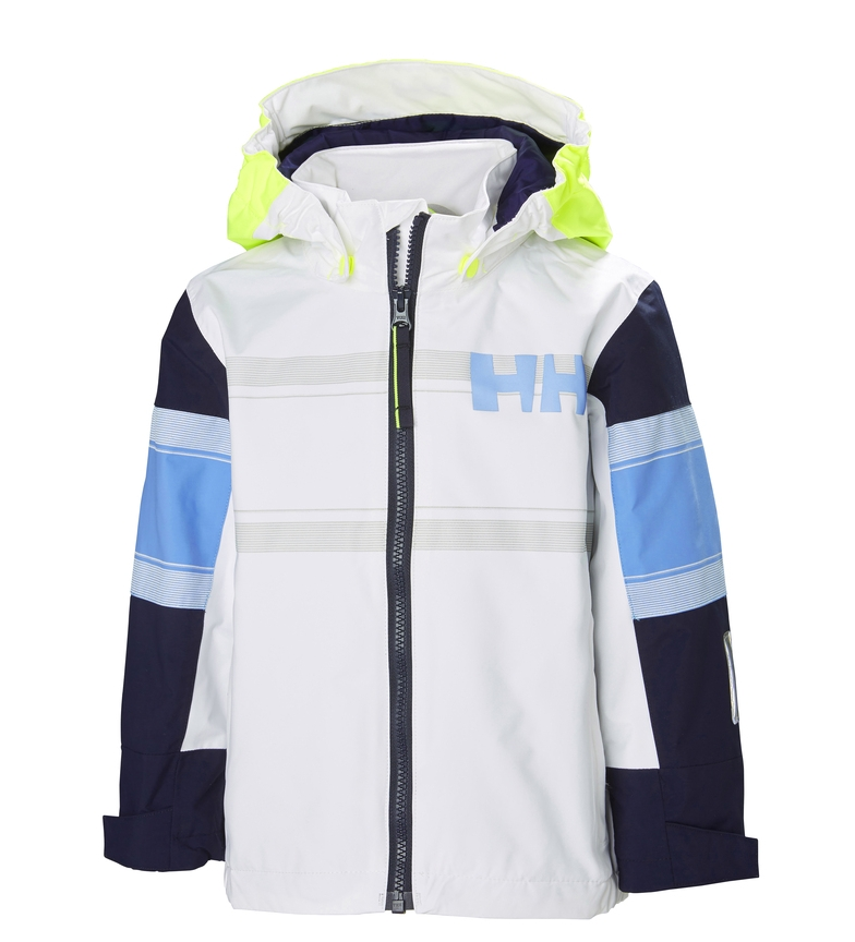 Comprar Helly Hansen Salt Coast K Jacket White, Blue/ Helly Tech