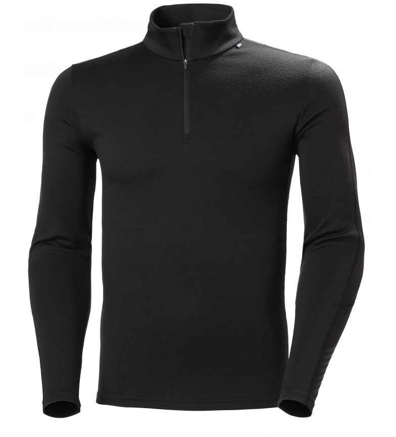 Comprar Helly Hansen Camiseta Lifa Merino Lightweight negro