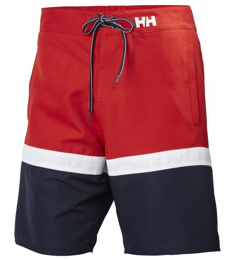 Comprar Helly Hansen Maillot de bain Marstrand rouge, marine