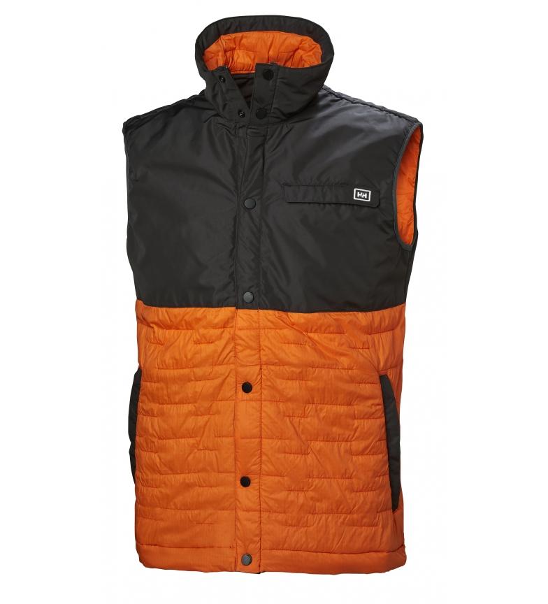 Comprar Helly Hansen Gilet Movatn Wool Ins arancione, grigio / 320g