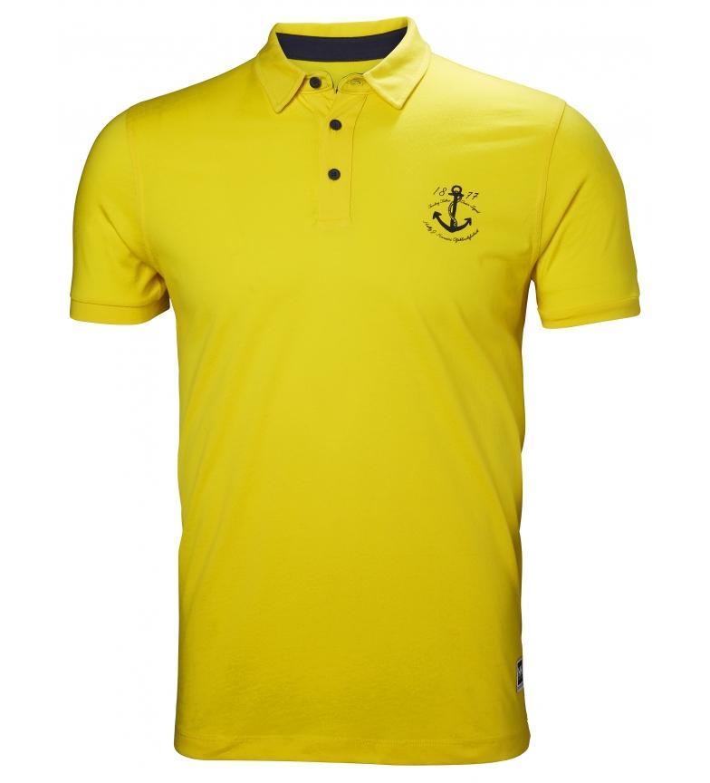 Comprar Helly Hansen Polo Fjord amarillo