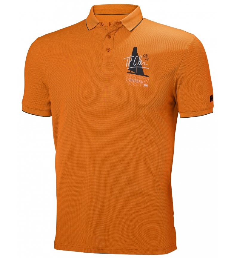 Comprar Helly Hansen Polo HP Racing laranja
