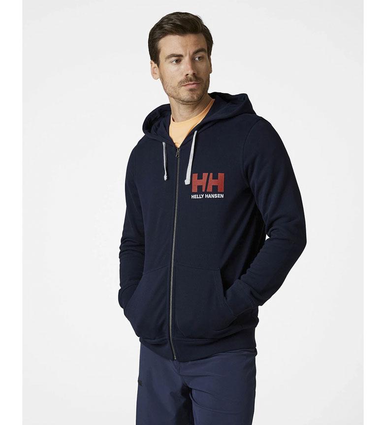 Comprar Helly Hansen Sweat marin avec logo HH Full Zip