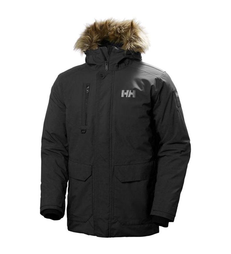 Comprar Helly Hansen Black Svalbard Parka / Primaloft
