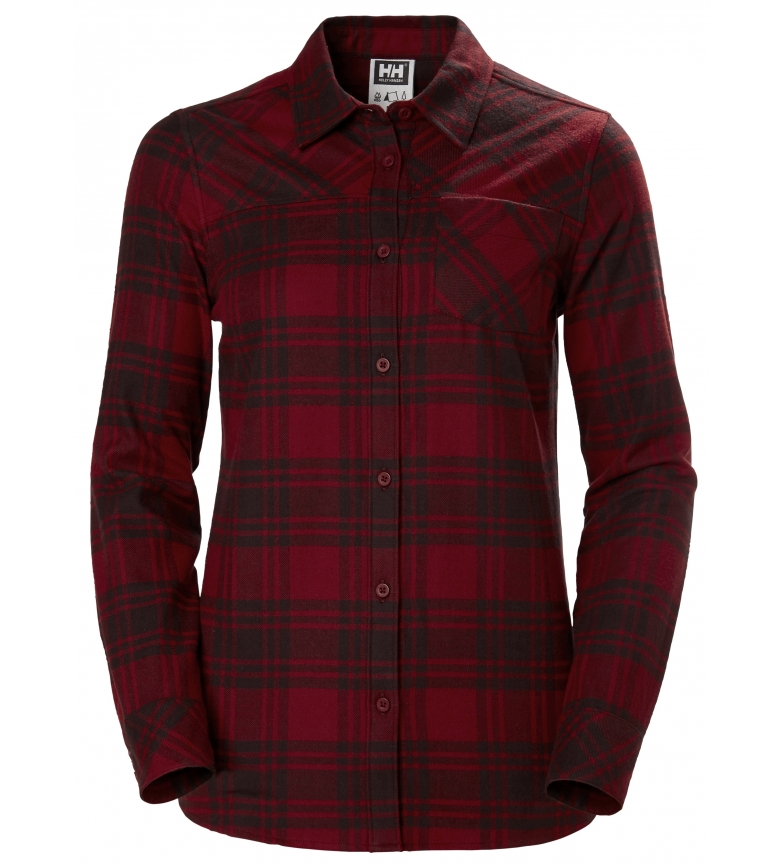 Comprar Helly Hansen Flannel Shirt W Classic Check red