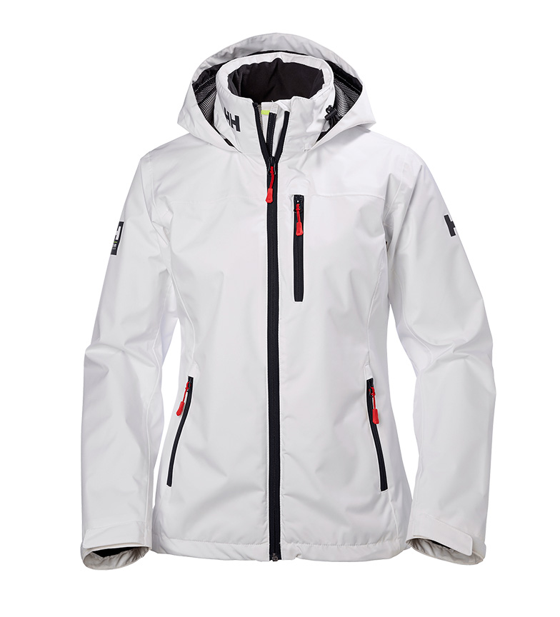 Comprar Helly Hansen W Crew Hooded white jacket -Helly Tech® Protection-