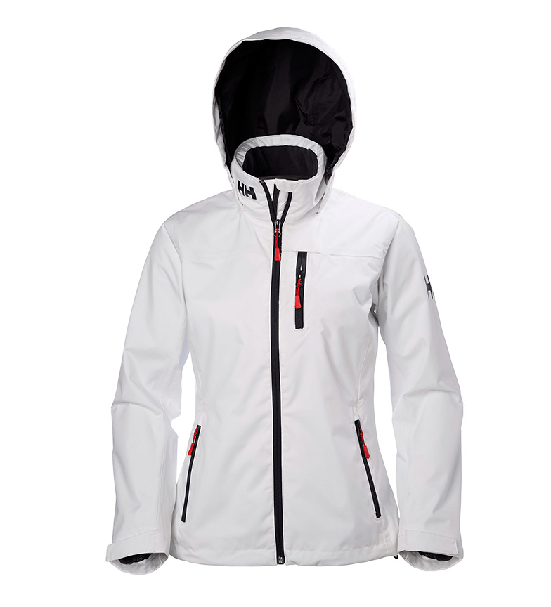 Crew Hansen chaqueta Midlayer Hooded TechProtection Helly W Blancohelly OZiukXP