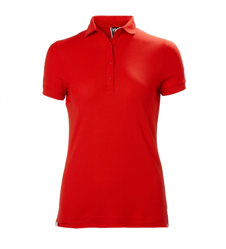 Helly Hansen Camisa pólo vermelha da tripulação