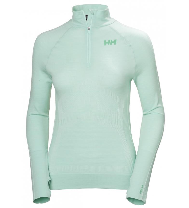 Comprar Helly Hansen T-shirt Lifa Seamless 1/2 Zip turquoise / Lifa