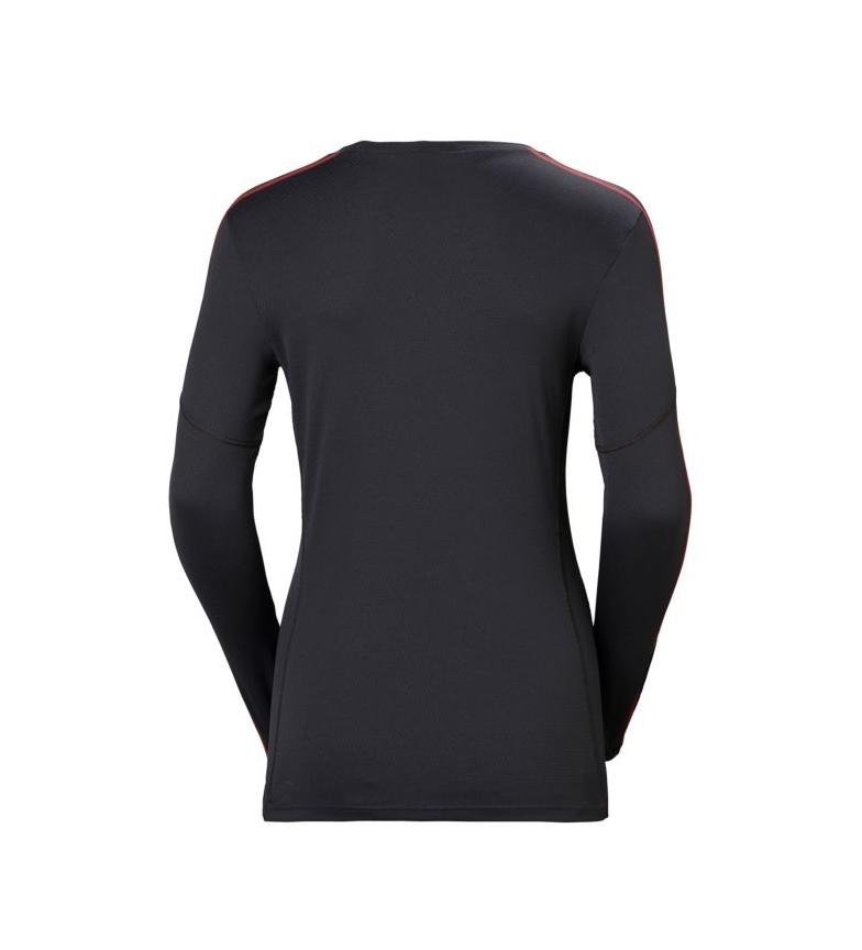W Crew Hh Active Hansen Lifa camiseta Helly Ebony 54jRAL