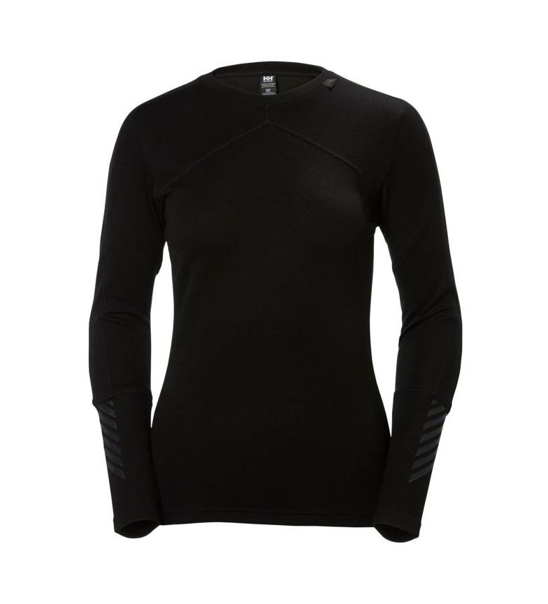 Lifa Helly Hansenb Merino W CrewbNegro camiseta Hh TKc1lF3J
