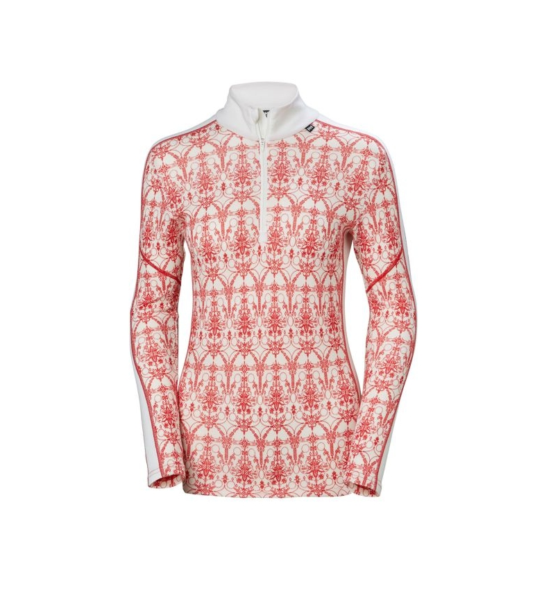 Comprar Helly Hansen Thermal T-shirt W HH Lifa Merino Graphic 1/2 Z white, red